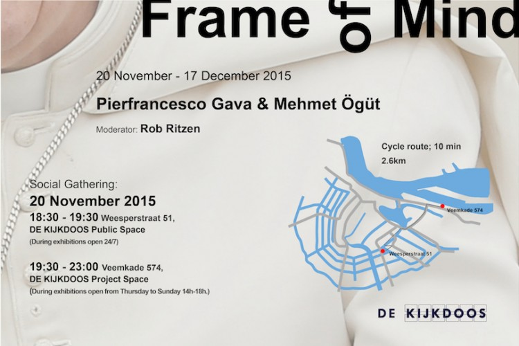 exhibition by Pierfrancesco Gava & Mehmet Ögüt